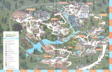 busch gardens williamsburg map busch gardens williamsburg 2016 park map