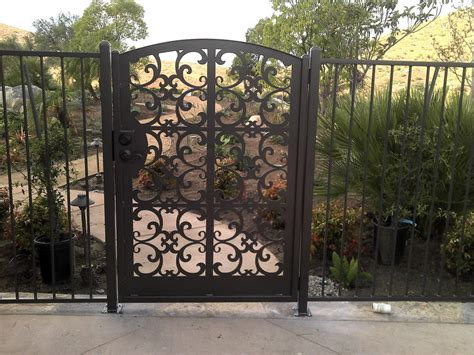 outdoor gates contemporary metal gate walk pedestrian garden entry custom art steel italian ebay