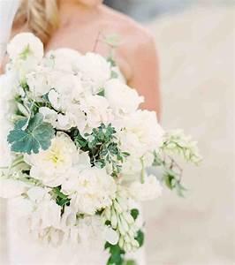 Bouquet Fleurs Blanches : photo bouquet de mari e 2017 des fleurs blanches pour ~ Premium-room.com Idées de Décoration