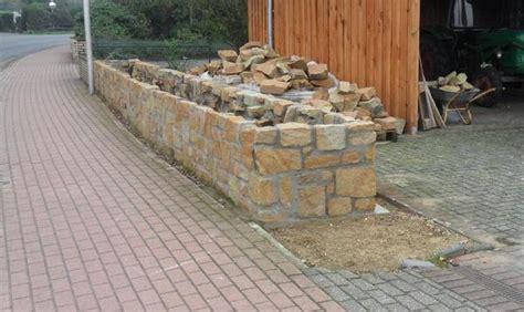 Sandstein Mauersteine, Naturstein Gartenmauer In Diepholz