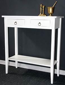 Beistelltisch Weiß Vintage : massivholz konsolentisch wandtisch beistelltisch telefontisch holz massiv wei antik ~ Yasmunasinghe.com Haus und Dekorationen