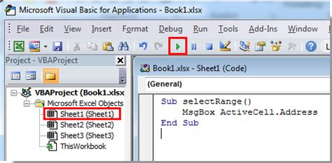 address  active cell  excel