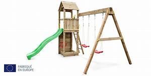 Jeux Exterieur Pas Cher : aire de jeux en bois pas cher excellent aire de jeux bois ~ Farleysfitness.com Idées de Décoration