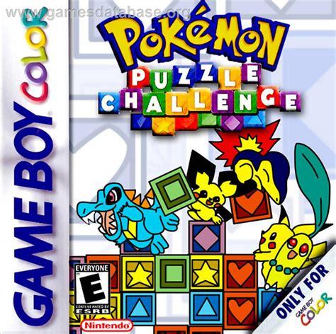 Pokemon Puzzle Challenge Nintendo Game Boy Color Games