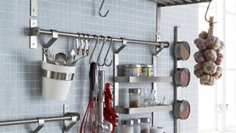 kitchen wall accessories stainless steel great finds ikea grundtal system product finecooking 8692