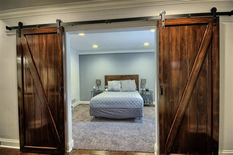 Bedroom Design Ideas With Barn Door  Home Design, Garden