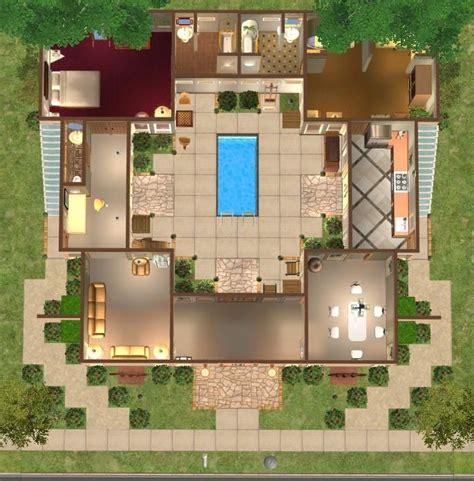 floor plans  courtyard google search courtyard house beach house design
