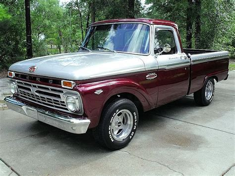1966 ford f100 the paint on this one classic