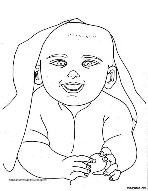 baby coloring pages coloring pages  girls