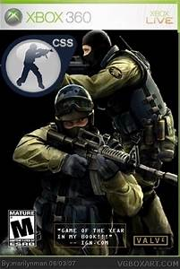 Counter Strike: Source Xbox 360 Box Art Cover by marilynman