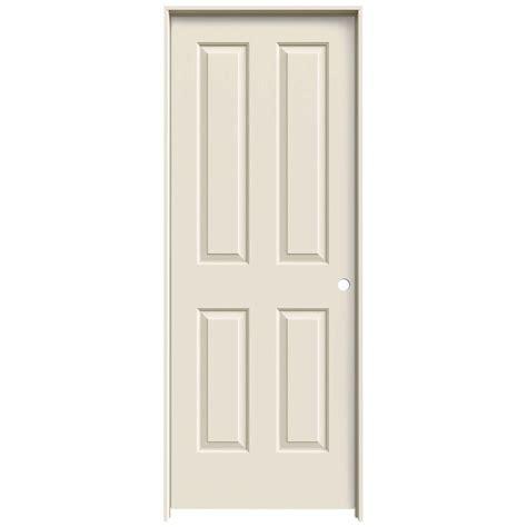 interior doors home depot jeld wen 28 in x 80 in molded smooth 4 panel primed