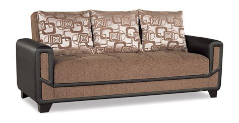 Index Sofa Bed by Mondo Modern Brown Convertible Sofa Bed By Casamode