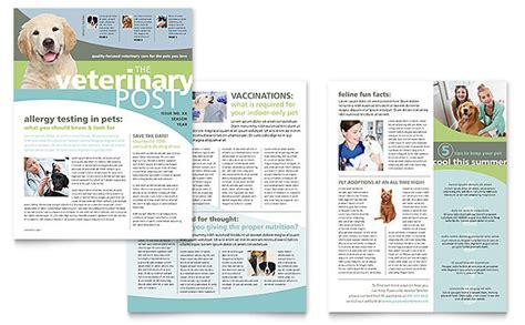 microsoft publisher newsletter templates vet clinic newsletter template word publisher
