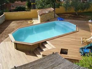 Piscine Bois Pas Cher : ide piscine bois rectangulaire pas cher piscine bois pas ~ Melissatoandfro.com Idées de Décoration
