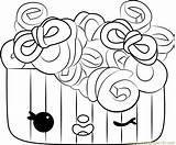 Coloring Frenchie Pages Curls Num Noms Coloringpages101 sketch template
