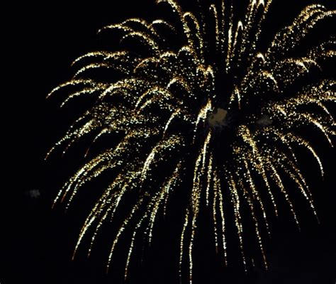 gold firework  streamers  stock photo public