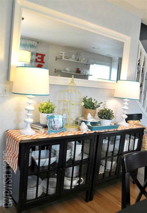 Dining Room Sideboard Decorating Ideas by 32 Dining Room Storage Ideas Decoholic