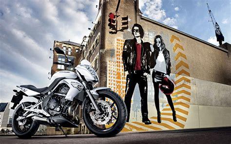 Kawasaki Er 6n Backgrounds by Wallpaper Kawasaki Er 6n Kawasaki Wall Graffiti Bike