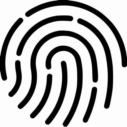 Fingerprint Icon Svg Touch Access Clipart Onlinewebfonts