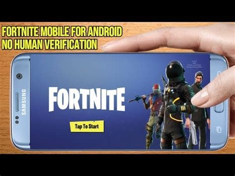 fortnite mobile  android  human