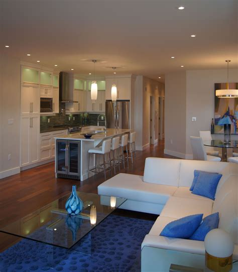lakeshore condo living room design by giroux design