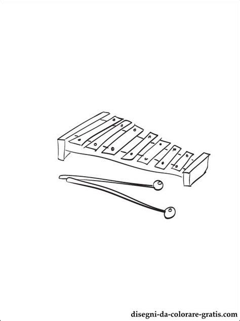 disegno  glockenspiel da stampare disegni da colorare