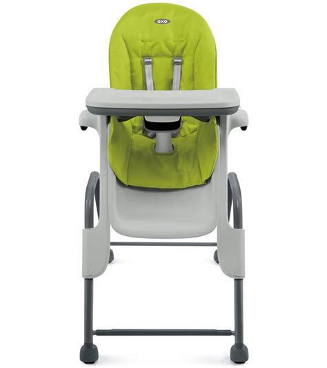 Oxo Seedling High Chair by Oxo Tot Seedling High Chair Green Gray