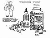 Drugs Say Coloring Pages Drawing Drug Quotes Prevention Safety Worksheet Activities Awareness Worksheets Drawings Famous Idaho Designlooter Road Pills Paintingvalley sketch template