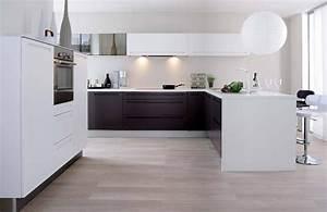 Modele De Cuisine Cuisinella : cuisine blanche moderne made in cuisinella photo 4 10 ~ Premium-room.com Idées de Décoration