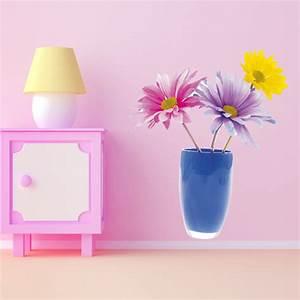 Pot De Fleur Mural : stickers pot de fleur pas cher ~ Dailycaller-alerts.com Idées de Décoration