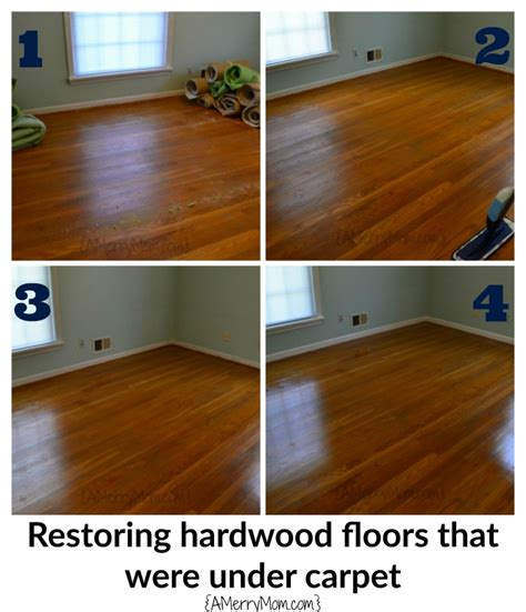 Cleaning Carpet Glue From Hardwood Floors by Restoring Hardwood Floors Carpet Without