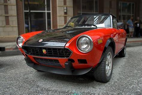 fiat abarth  spyder car classic cars  dream cars