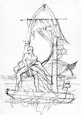 Raft Drawing Paintingvalley Drawings sketch template