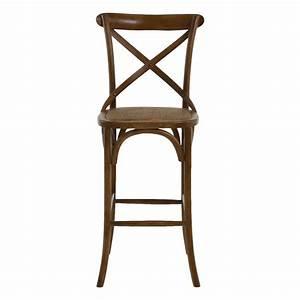 Chaise De Bar Bois : chaise de bar bistrot style vintage mooviin ~ Dailycaller-alerts.com Idées de Décoration