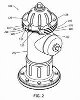 Fire Drawing Hydrants Hydrant Dimensions Sketch Coloring Patent Patents Getdrawings Google sketch template