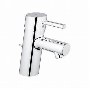 Mitigeur Grohe Lavabo : mitigeur lavabo grohe concetto chrom robinet and co ~ Dallasstarsshop.com Idées de Décoration