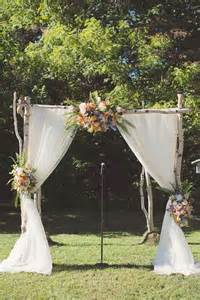 rustic wedding backdrops best 25 country wedding arches ideas on