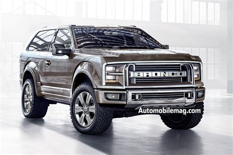 2019 Ford Ranger, 2020 Ford Bronco May Have Solid Front