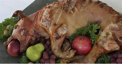 Pig Thanksgiving Turkey Done Try Roasted