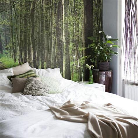fototapete wald schlafzimmer 40 ideen mit fototapete wald lassen sie die natur ins haus archzine net