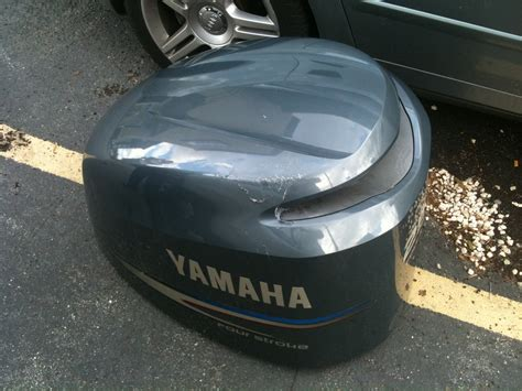 yamaha outboard touch  paint  hull truth boating