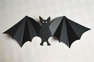 Gruselige Bastelideen Zu Halloween : fledermaus basteln kinderspiele ~ Lizthompson.info Haus und Dekorationen