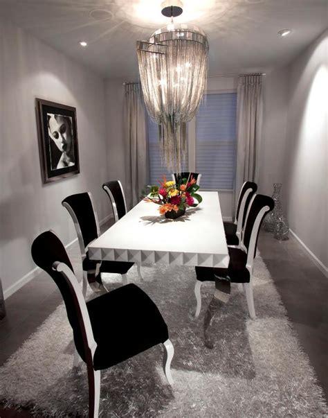 table et chaises salle à manger salle à manger grise la teinte passe partout