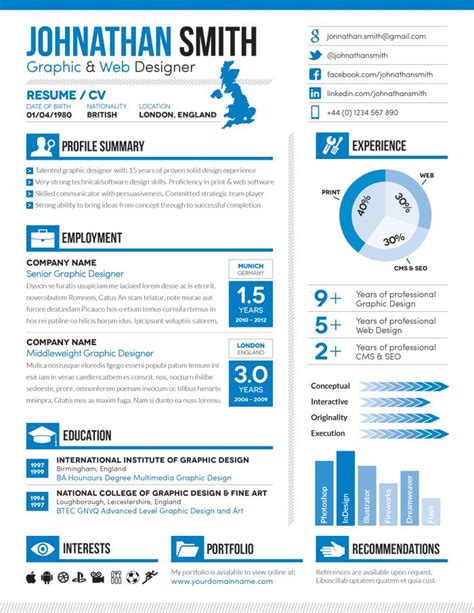 Visual Resume Sles by Resume Cv Cover Letter Set 01 By Boxedcreative