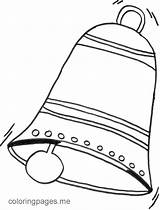 Coloring Bell Church Clipart Bells Google Popular sketch template