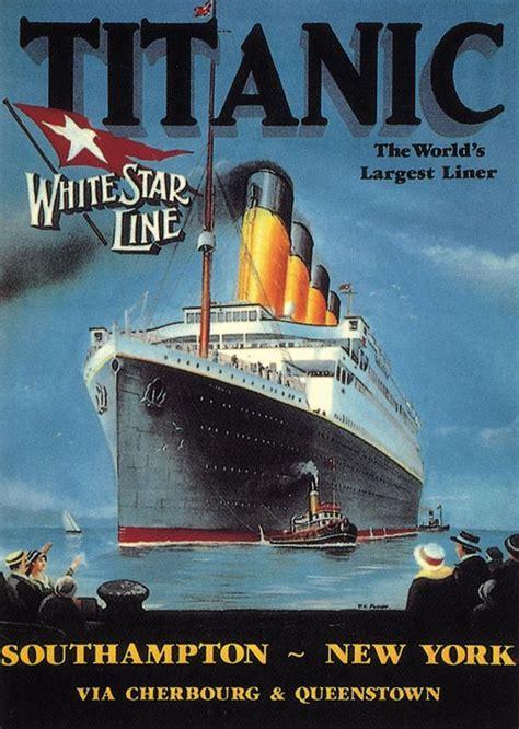Titanic Boat Poster titanic poster 1912 ships the sea pinterest