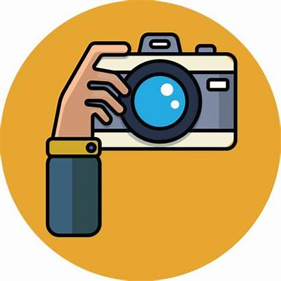 Camera Cartoon Hand Clip Clipart Illustration Related