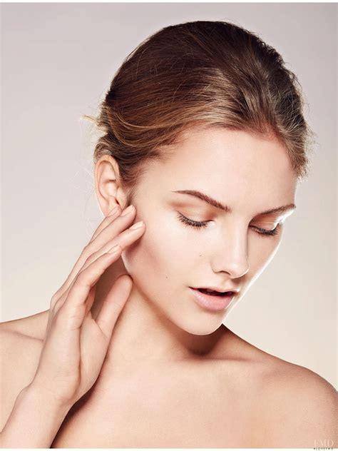 beauty skin care model