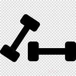 Dumbbell Equipment Gym Exercise Icon Clip Weight