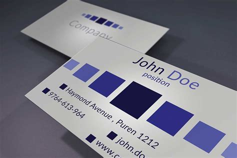 unique stylish psd corporate business card designs
